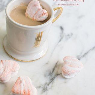 1. Marbled Heart Marshmellows