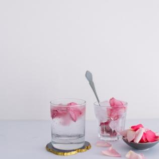4. Rosewater Gin + Tonic