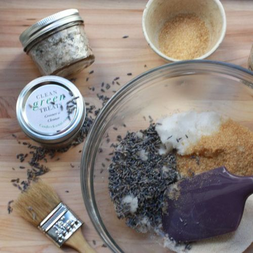 Coconut and Lavender Body Scrub
