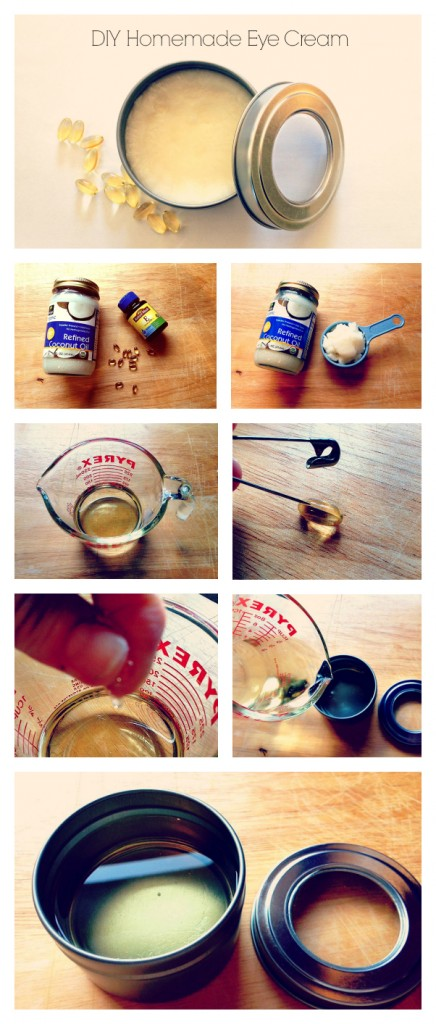 DIY Eye Anti-Aging  Cream