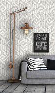 geometric wall paper