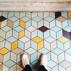 geometric flooring