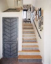 geometric stair design