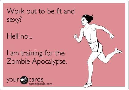 Running zombie apocalypse