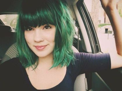 Emerald Green hair