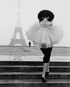 1950s Paris Audrey Hepburn