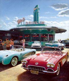 1950s Drive thru