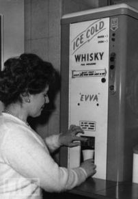 1950s Whisky Machine which they sometimes had a work! How awesome is that!