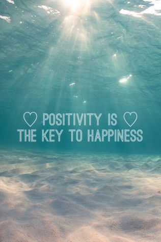 positivity is key quote