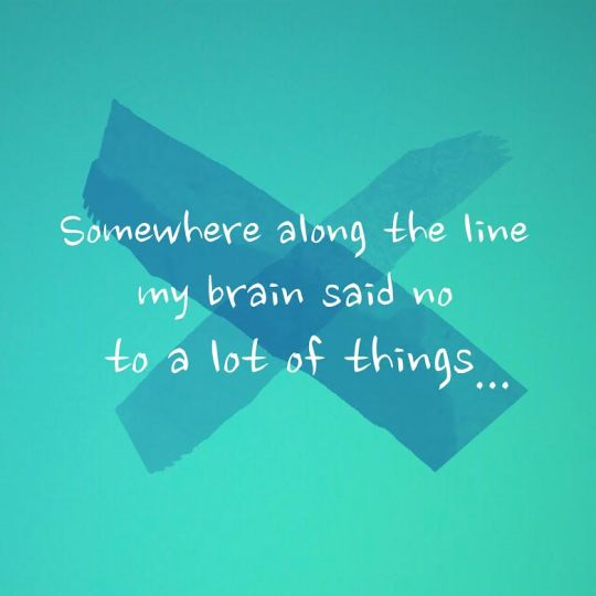 Brain says no...
