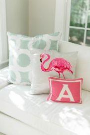 Flamingo pillow cushion