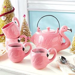 Flamingo kettle