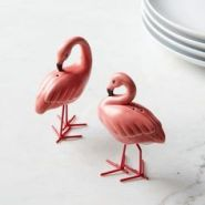 Flamingo salt and pepper shaker