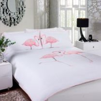 Flamingo bedding