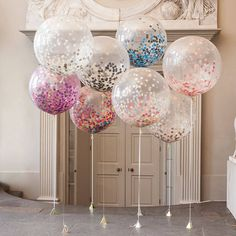 balloons-filled-glitter