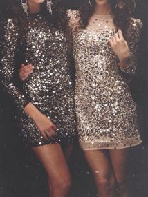 glitter-dress