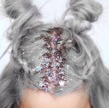 glitter-hair
