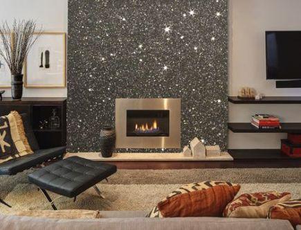 glitter-wall-fireplace