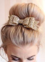 gold-glitter-hair-bow