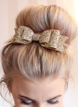 gold-glitter-hair-bow