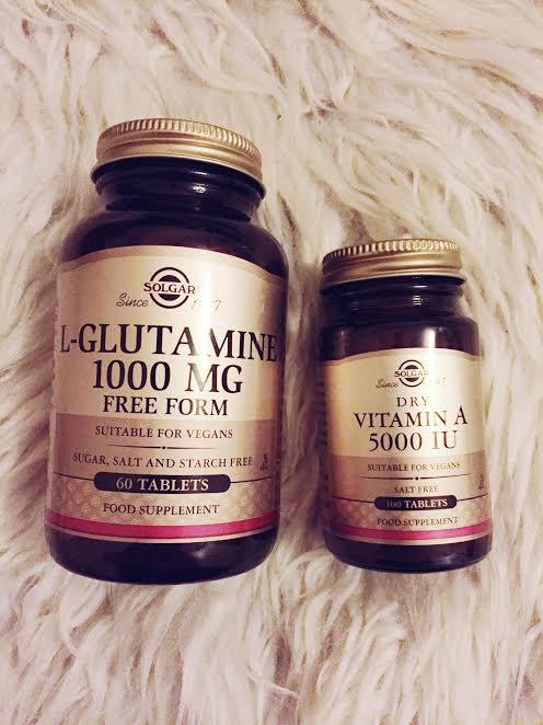 IBS, L-glutamine, Vitamin A
