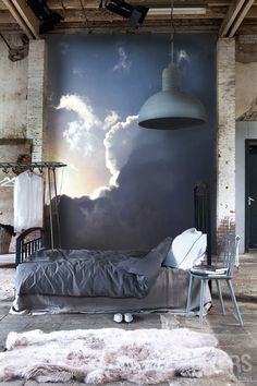 clouds-wall