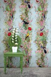 flower-bird-mural