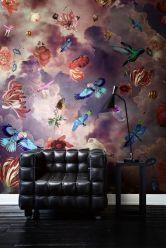 flower-bird-wall