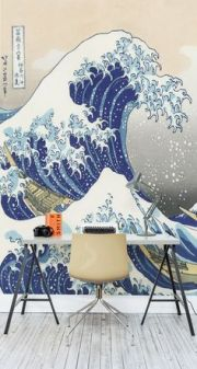 japanese-wave-wall-paper