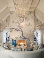 tree-branches-bird-wall
